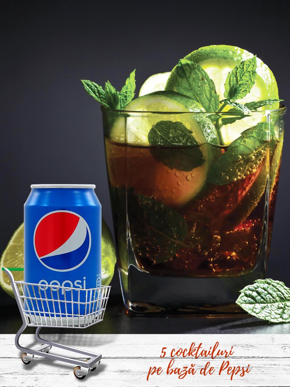 5 cocktailuri pe bază de Pepsi