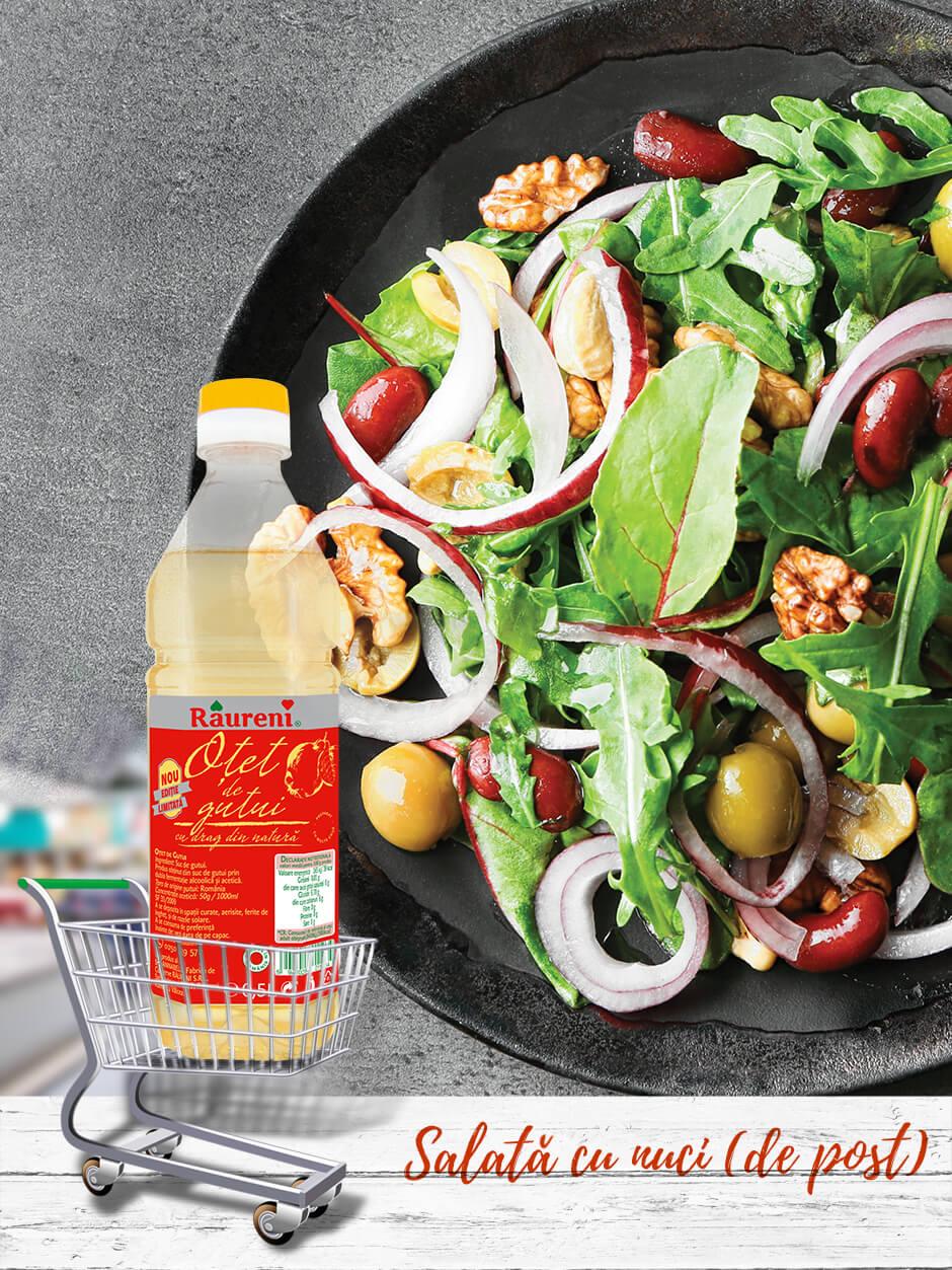 Salată-cu-nuci (de post)
