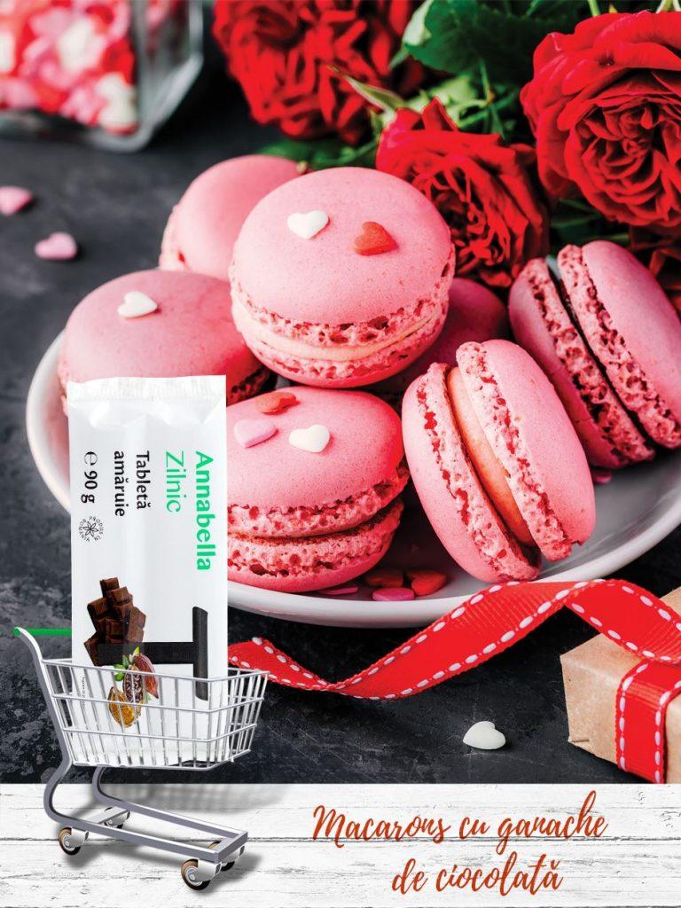 Macarons-cu-ganache-de-ciocolată